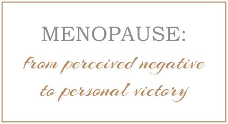 Menopause blog